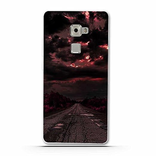 6 opinioni per Huawei Mate S Cover, Fubaoda Alta qualità Bello e romantico paesaggio Serie TPU