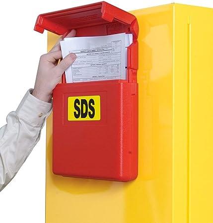 JustRite caja de almacenamiento de documentos – Apertura frontal: Amazon.es: Oficina y papelería