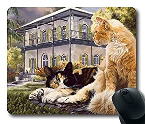 "Rectangle Mouse Pad Hemingway House Durable Rubber Customized Mousepad 220mm*180mm*3mm (9""*7"") -WS82033"