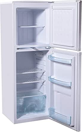 Super General 190 Liter Compact Top-Mount Refrigerator-Freezer/ White/ Defrost/ Wired Shelves/ 1380 x 480 x 530 mm/ SGR198H