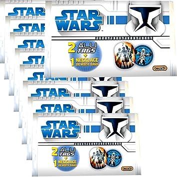 TE-Trend 9 Piezas Piñata Star Wars Clone Wars Collar Pulsera ...
