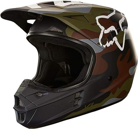 Amazon.com: Fox Racing Camo V1 - Cascos de moto para adulto ...