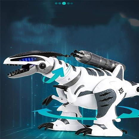 Cool Electric Walking Dinosaure Jouet Robot avec Lumière Sonore Mouvement Enfants Cadeau #2 N4G4