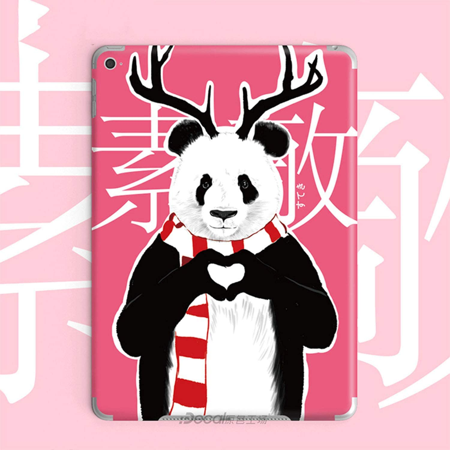 Skin Shell Protect Sticker Film Cover for Apple ipad Mini pro 9.7 //for Air//for Air2 Sticker For2017 2018 New for ipad Anti-Scratch Membrane-Red-for ipad pro 9.7