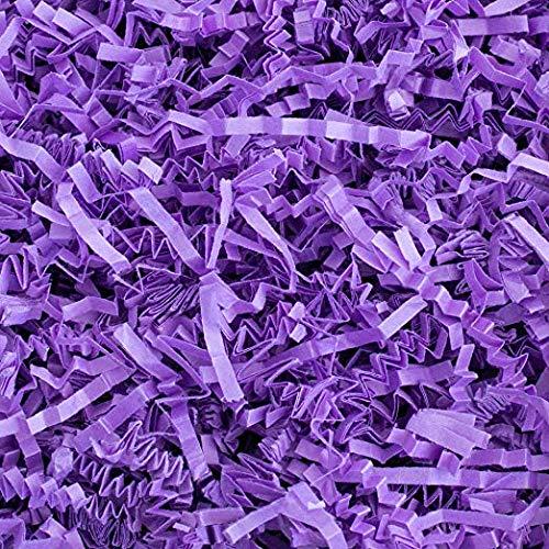 Gift Wrap Crinkle & Filler Paper Shred (Purple Shred 4 Oz)