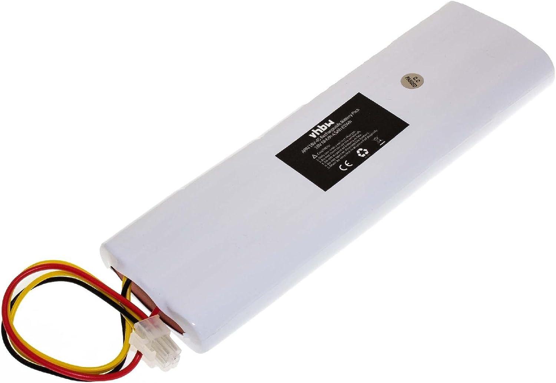 vhbw Batería Compatible con Husqvarna Automower 210AC, 210C, 220AC, 230ACX, 260ACX, G2 (2004-2006), SH, Solar Hybrid cortacésped (NiMH, 4500mAh, 18V)