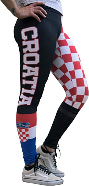 EAGLE ROCK WERKSHOP Athletic Performance Leggings/Yoga Pants - Athleisure Wear - Croatian