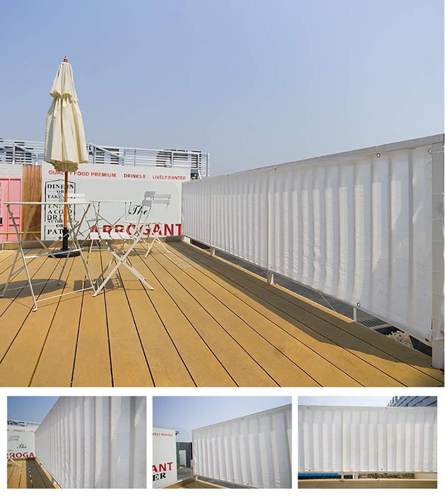 Size : 1x1m Sombra Cubierta De La Red Cercas De Malla De Punto Privacidad Pantallas Planta Blanco LZ-SNAIL Malla Sombreadora Sun Net 90/% Protector Solar Protector Solar con Ojales 3x3ft