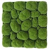 SilksAreForever 12''x12'' Mood Moss Artificial Mat -Green (Pack of 20)