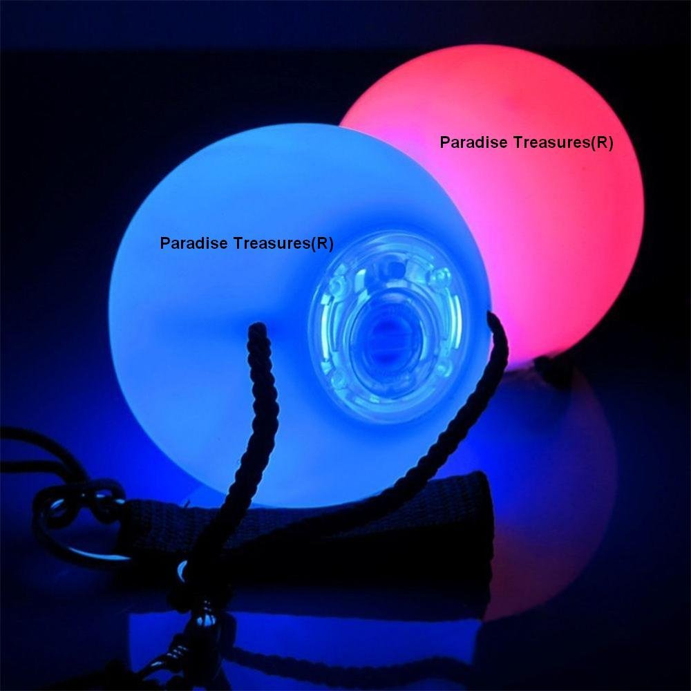 lighting treasures. Amazon.com: Paradise Treasures LED Poi Ball Swirling Light-up Rave Toy With Infinity Tunnel Necklace, Set Of 2: Toys \u0026 Games Lighting