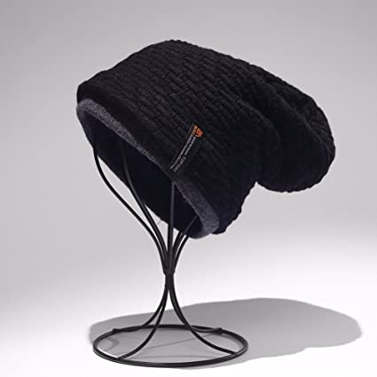 e959a7bb1c1 SSBY Fall winter days warm and plush padded men s wool hat winter knit hat  men s