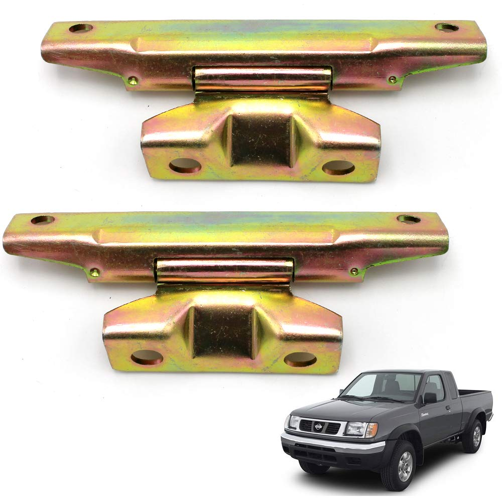 Nonstops Hinge Assy Rear Door Tail Gate 2 Pc Fits Nissan Frontier D22 Pickup 1997 2005 by Nonstops