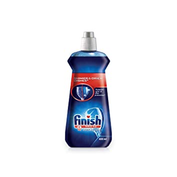 Finish - Abrillantador para lavavajillas (400 ml): Amazon.es ...