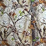 LM WOODS IN WINTER TREE HYDROGRAPHIC WATER TRANSFER FILM HYDRO DIPPING DIP DEMON