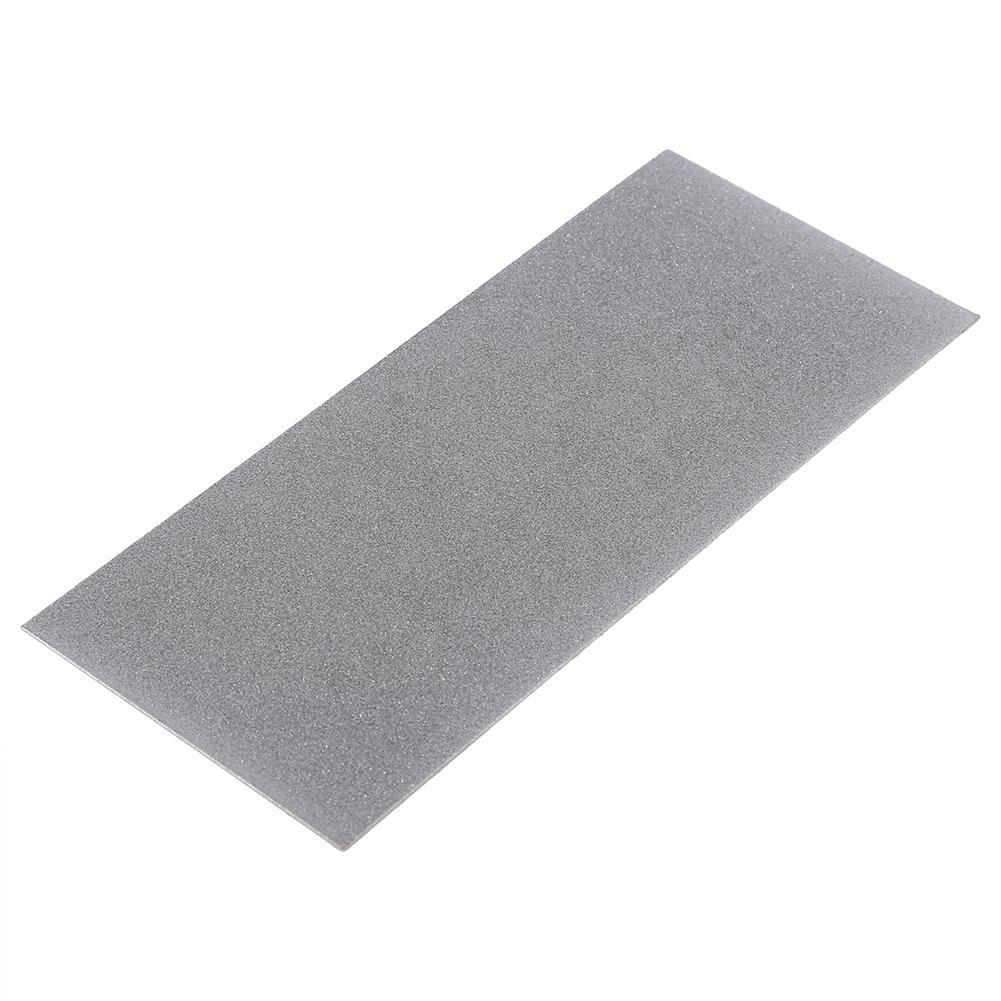80-3000 Herramienta de cuchilla de piedra de diamante de rect/ángulo de grano Piedra de afilar de pulido fino de diamante profesional para herramienta de cocina 400 granos