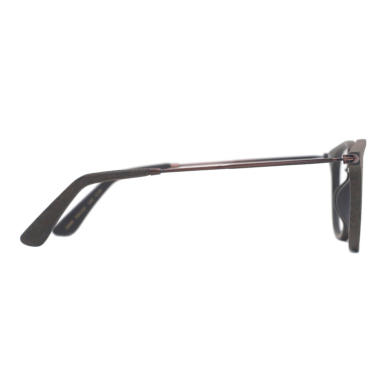 TIJN Vintage Runde Brillen Rahmen optische Gläser mit Nicht ...