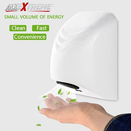 commercial bathroom hand dryers. AllExtreme Automatic Electric Hand Dryers For Bathroom, Commercial Intelligent Induction Mini High Speed Drying Machine Bathroom