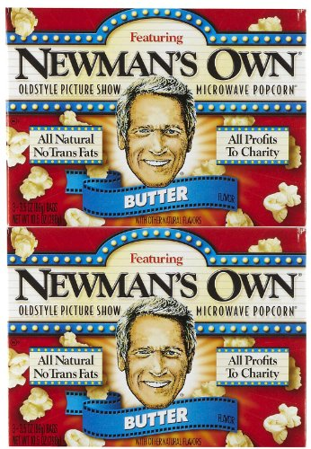 Newman's Own Butter Microwave Popcorn 3 pk 10.5 oz by Newman's Own (Image #1)