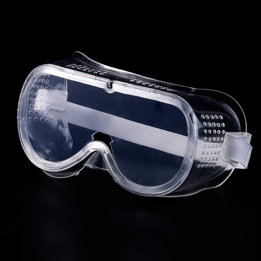 occhialini di Sicurezza Anti-Appannamento Protezione per Gli Occhi Sitonelectic per lavori industriali di Laboratorio Trasparenti con Ventilazione