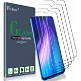 Ferilinso [4 Pack] Screen Protector for Xiaomi Redmi Note 8, Redmi Note 7, Redmi 7, Tempered Glass with Lifetime Replacement