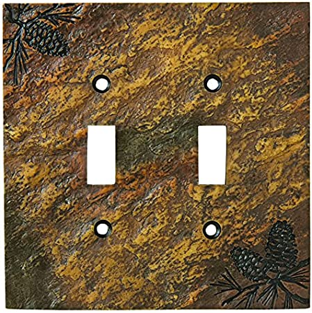 New Big Sky Carvers Triple//Three Light Switch Plate Cover Bear Free Shipping
