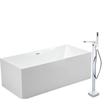 Bernstein Vasca Da Bagno.Vasca Da Bagno Freestanding Comfort Bianco Rubnetti A