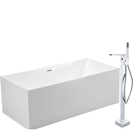 Vasca Da Bagno 60 Cm.Bernstein Badshop Vasca Da Bagno Autoportante Comfort In Acrilico