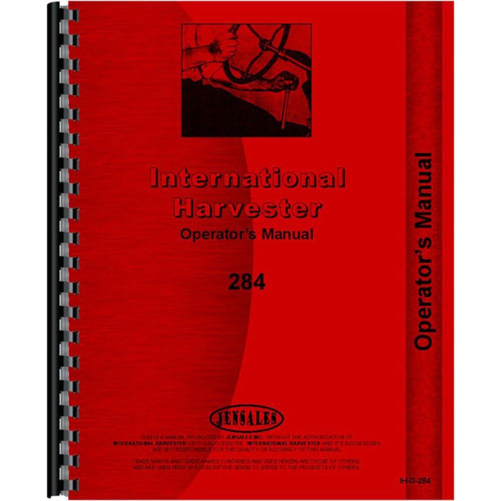Amazon.com: New Tractor Manual Kit For Case IH International Harvester 274  285: Industrial & Scientific