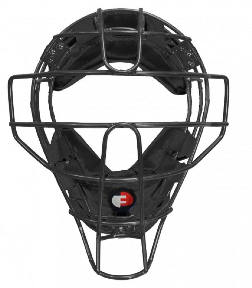Force3 Pro Gear  Defender Mask (Black/Black Leather)