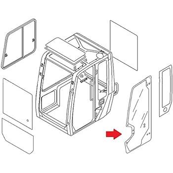 Amazon Com 0568639430 Full Door Glass Made For Takeuchi