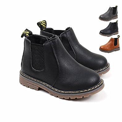 03964c2973f0b Chickwin Chaussures Bébé Bottes Bébé Enfant Unisexe Confortable Garder Au  Chaud Marche de Automne Hiver Chaussures