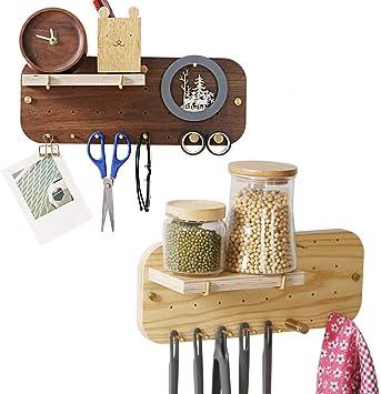 Key Rack Wall Mount Hanging Organizer Storage Magnetic Home Office Decor Holder