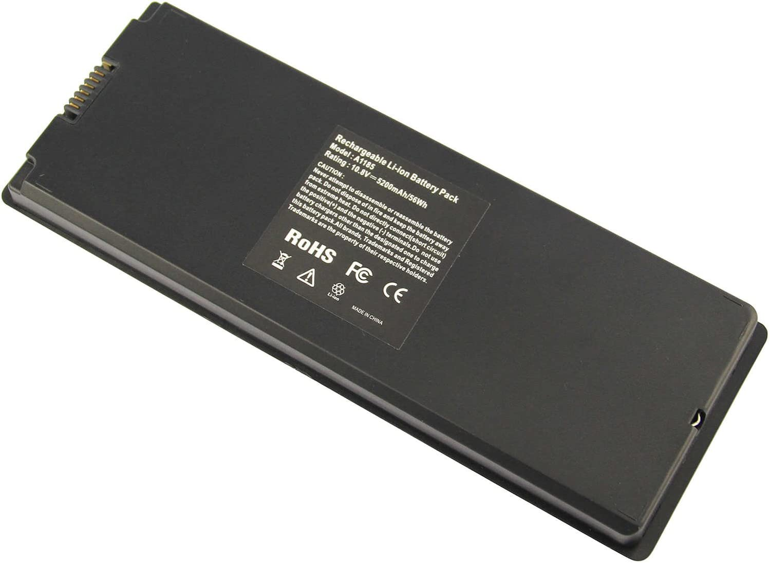 "ARyee for Apple MacBook A1185 A1181 Battery [Only for 2006 2007 2008 2009] Fit MacBook 13"" MA254, MA255, MA472,MA699 MA700, MA701, MB061, MB062, MB063, MB062, MB063,MB402, MB403[10.8V 59Wh]"