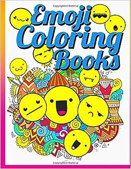 Emoji Coloring Book: Emoji Coloring Book: Inspirational ...