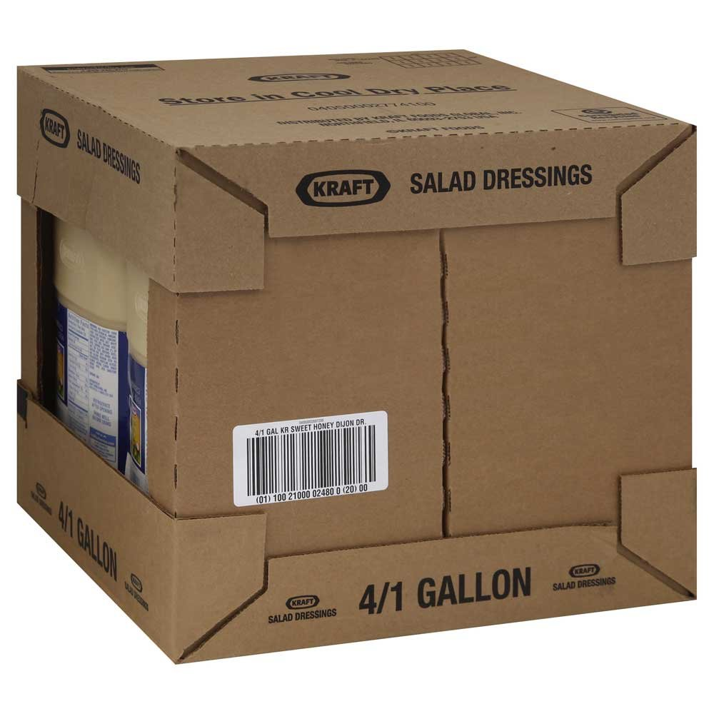 Kraft Honey Dijon Sweet Dressing and Dip, 128 Ounce -- 4 per case. by Kraft