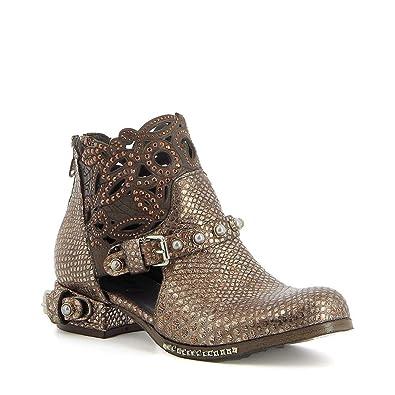 en ligne ici nouvelle sélection meilleur MIMMU - Low-Boots ajourées en Cuir: Amazon.fr: Chaussures et ...