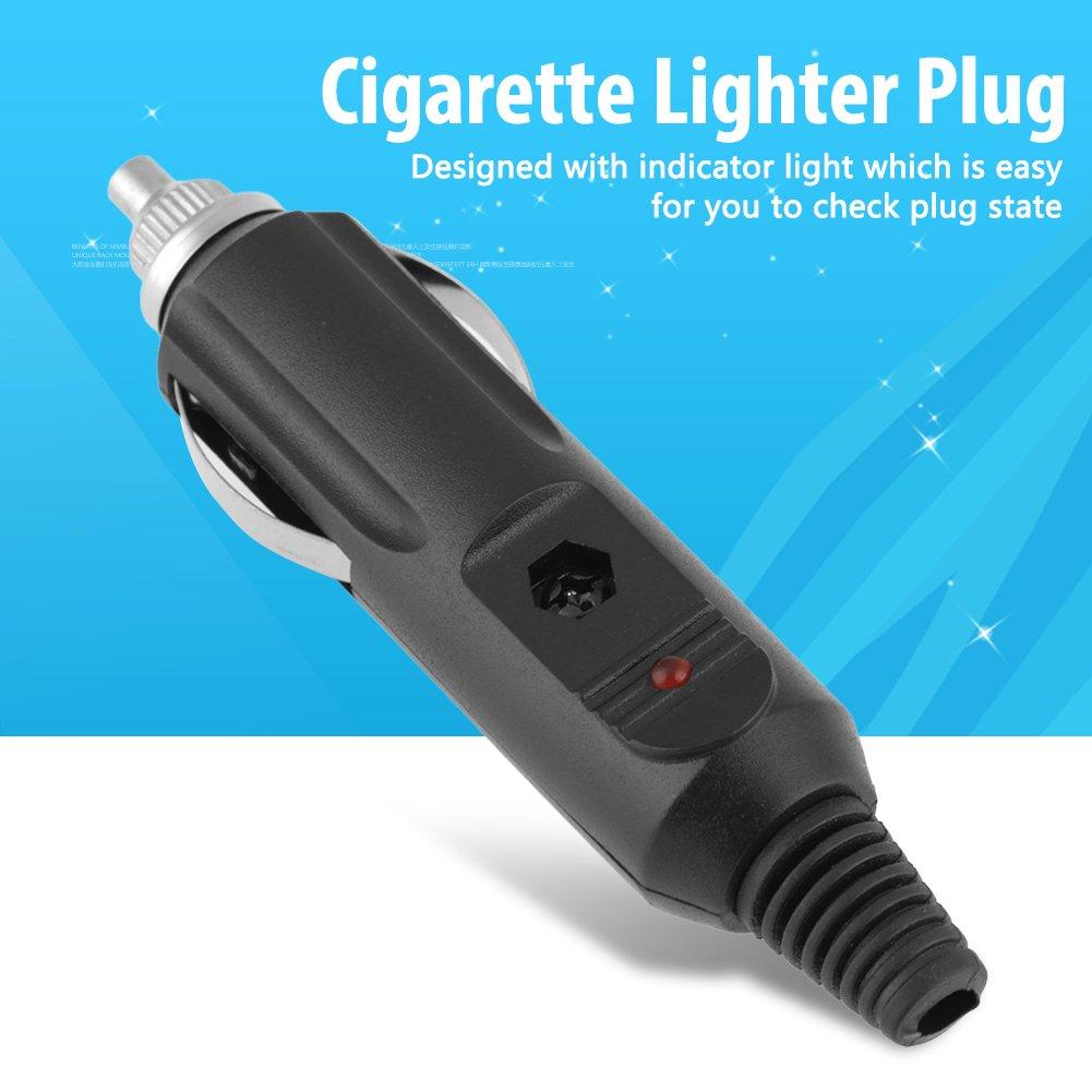 MLMLH Zigarettenanz/ünder Stecker 5 st/ücke 12 V 24 V 5A Auto Zubeh/ör M/ännlichen Zigarettenanz/ünder DIY Steckverbinder