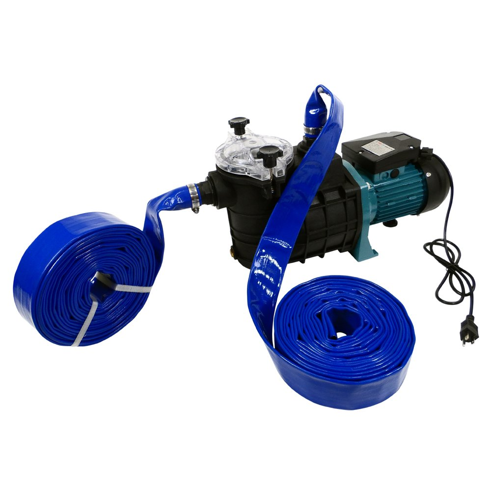 Emergency Water Pump Portable Pumping Kit Flood Water Pump (All Purpose Self-Priming Water Pump Model) by GCG