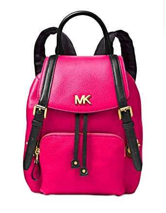8d4b3f60bb65 Amazon.com | MICHAEL Michael Kors Mott Small Backpack (Ultra Pink ...