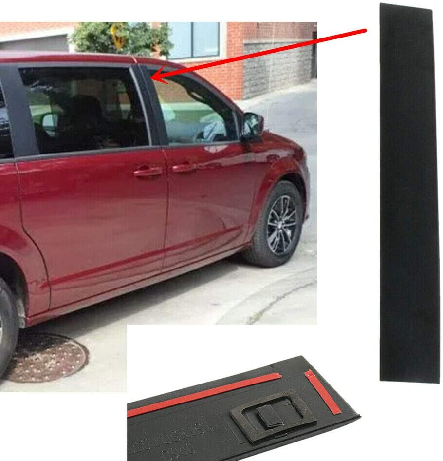 Compatible with 2008-2016 Chrysler Town /& Country Front Right Passenger Door Applique Pillar Trim
