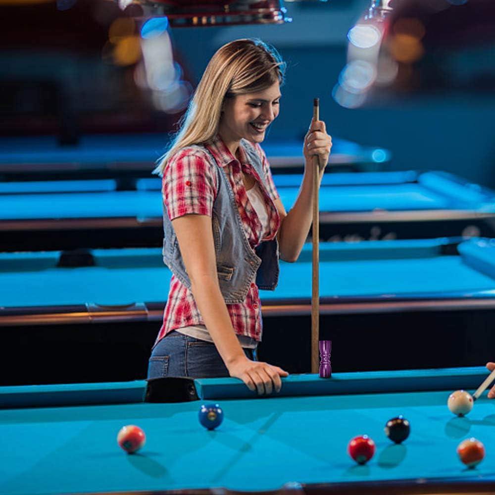 LDFV Herramienta de Billar, Pajarita de Billar/Pool/Snooker Cue Tips Scuffer-Shaper-Aerator 3 en 1 Herramientas de Reparación de Herramienta(Negro): Amazon.es: Deportes y aire libre