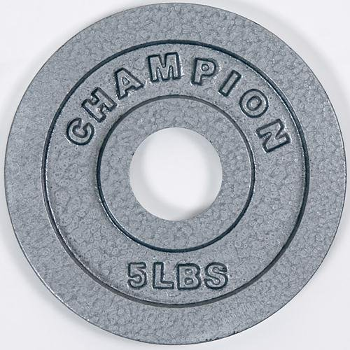 Champion Olympic Grip Plate (5-pound)