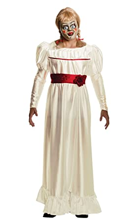 rubies annabelle horror costume white x large