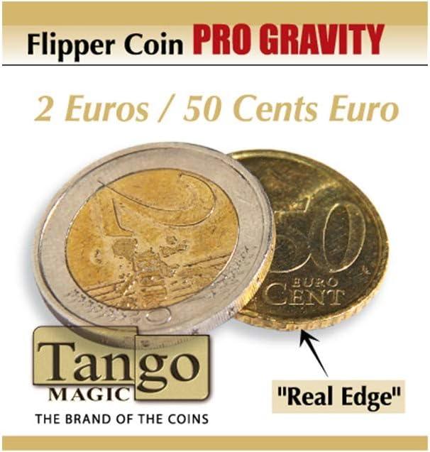 Flipper 2 Euros/ 50 cts de Euro (Pro Gravity): Amazon.es: Juguetes y juegos