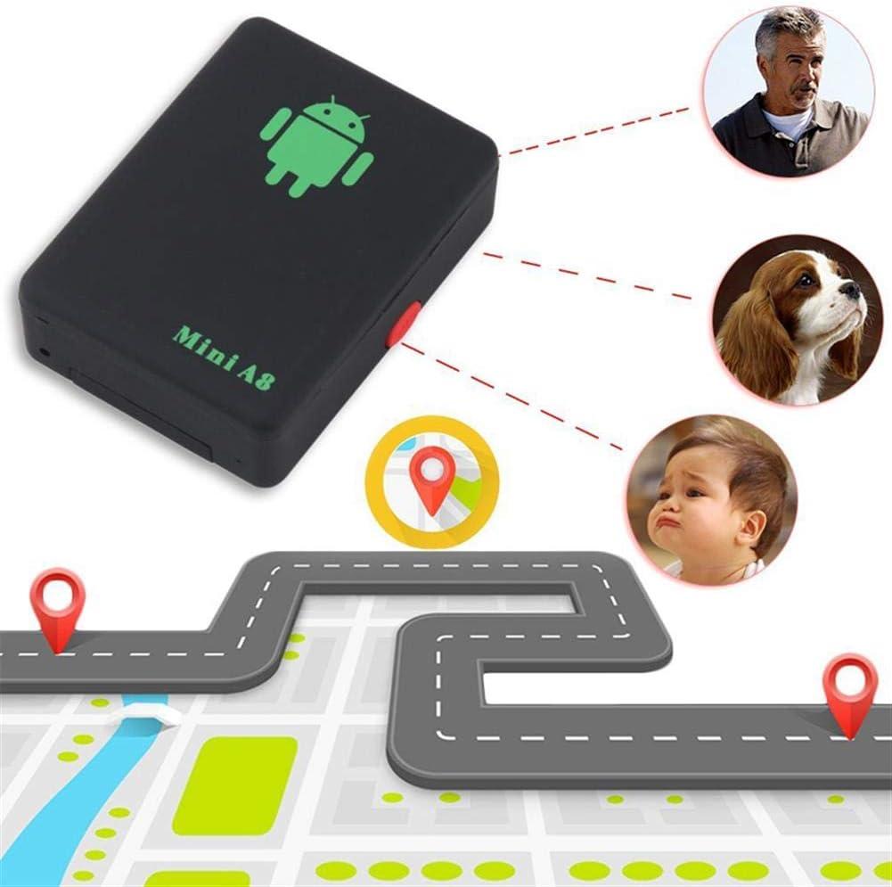 KADDGN Dispositivo Mini perseguidor Global del GPS de Seguimiento de localización Global con el Tiempo Real gsm/GPRS/GPS Security Tracker niños Elder Car Locator