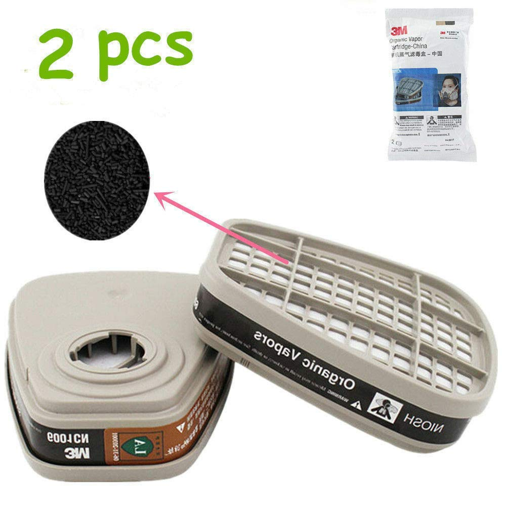 Full Face Anti-dust Painting Spraying Respirator Gas Mask Kit(15 in 1)