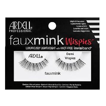 acea16208f5 Amazon.com : Ardell Faux Mink Strip Lashes Demi Wispies : Beauty