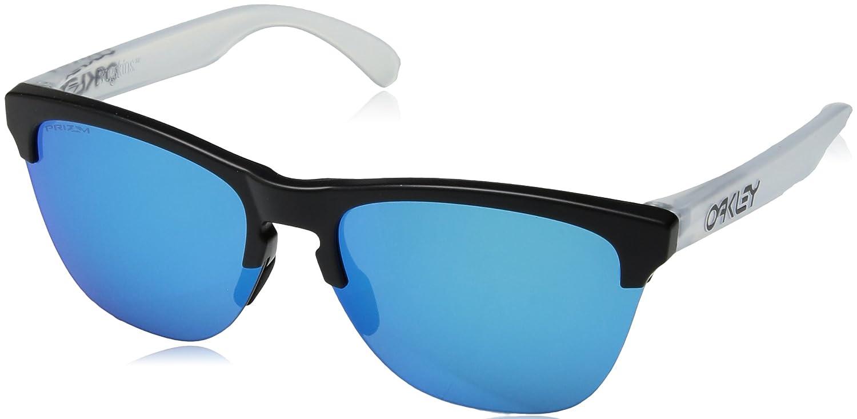 be2b2546ee7 Oakley Frogskins Lite Sunglasses Matte Black Prizm SapphireOS  Home   Amazon.com.au