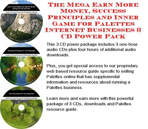 The Rich Man's How To Earn Extra Money, Marketing and Success Principles for Palettes Web Biz 3 CD Course