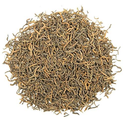 Golden Needle Ripe Puerh Loose Leaf Tea - Hong Kong Tea Company Sourced Premium AAA Grade Fine Puerh ()
